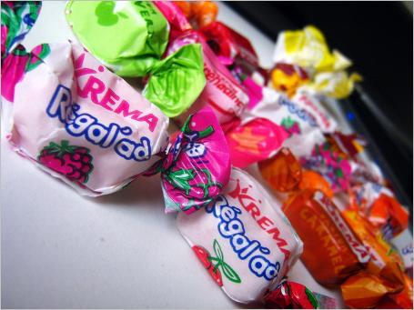 Vos bonbons préférés ! Krema-regalad