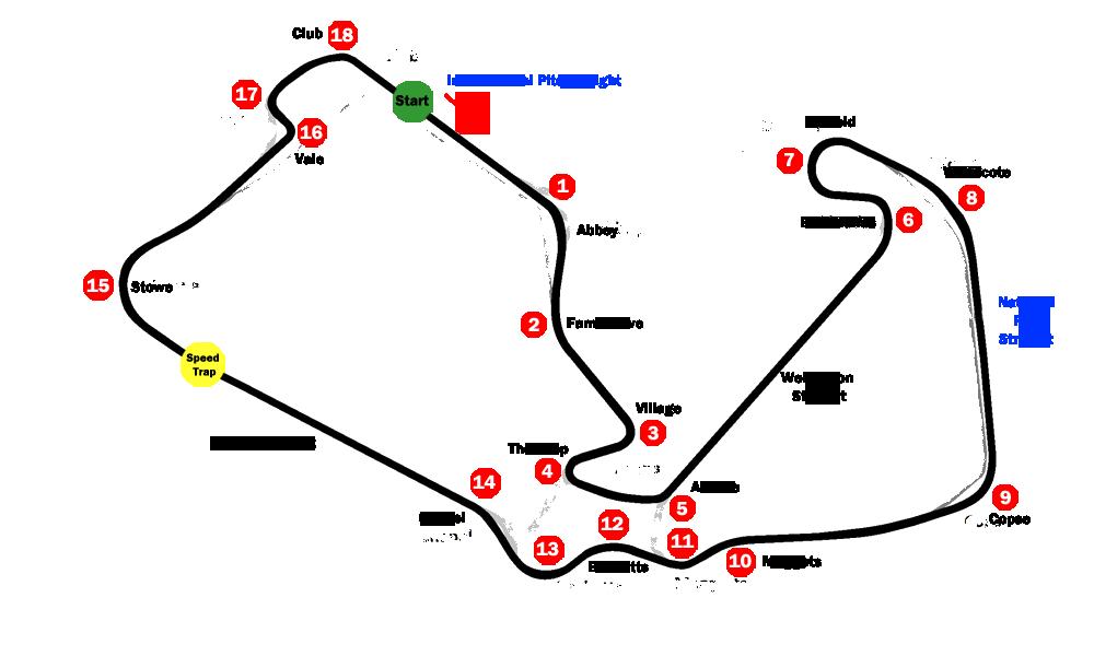 Hilo General Grupo 1 - Página 7 Silverstone_circuit_map