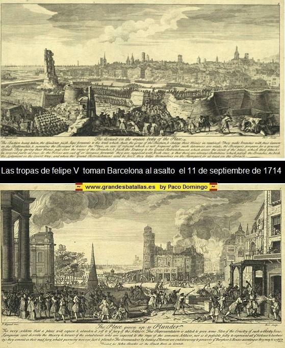 Con la Diada de Catalunya, termina la Guerra de Sucesión . DIADA%20%20TOMA%20DE%20BARCELONA