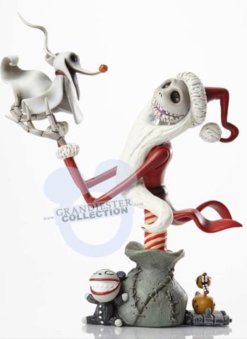 Disney Busts - Grand Jester Studios (depuis 2009) - Page 40 Santajackandzero2