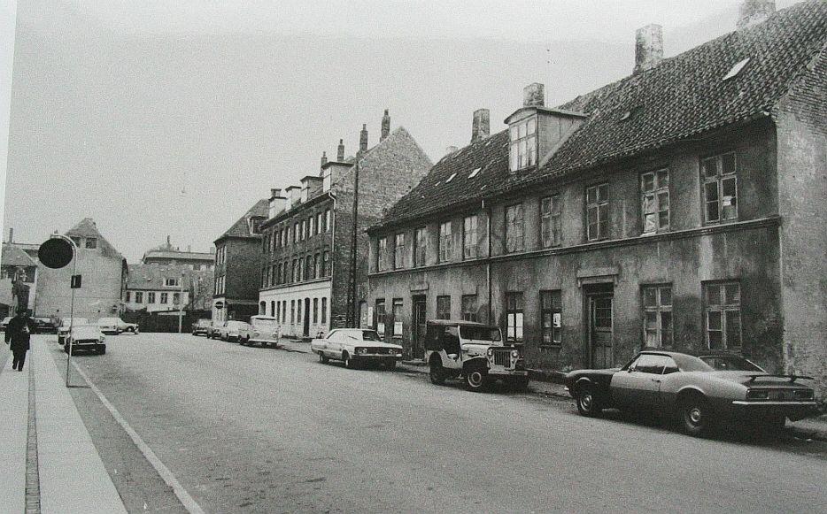 Gamle Danmark. Oeselsgade-1972