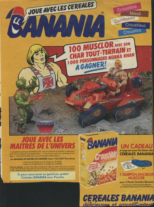 Publicités en France PubBanania