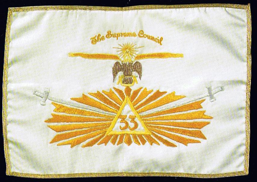 Egyptian Folklore II Cooper-33-degree-flag