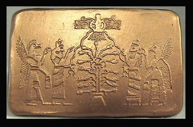 La Cause des causes - La connaissance du mal - démasquer le Malin et son clergé Bronze-tree-of-life