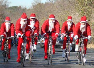 Passione MTB e ciclismo - Pagina 4 Babbo-natale-in-bicicletta