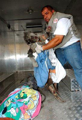 طفلة اسرائيلية تكتب رسالة على الصاروخ لأطفال فلسطين ولبنان Genocide4