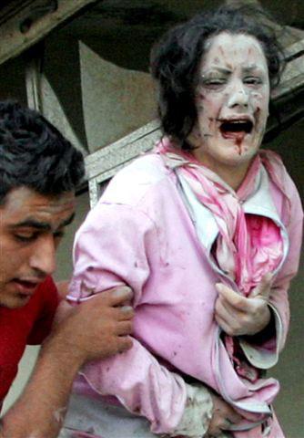 طفلة اسرائيلية تكتب رسالة على الصاروخ لأطفال فلسطين ولبنان Genocide7