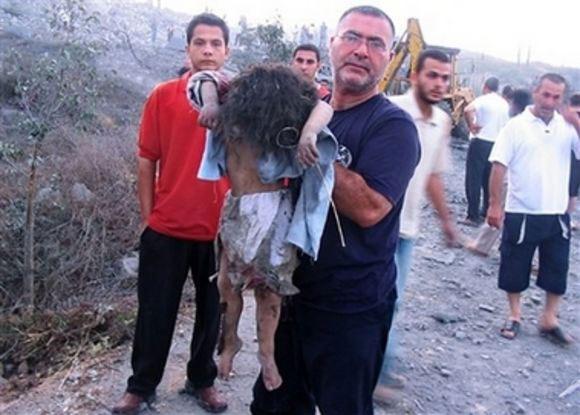 طفلة اسرائيلية تكتب رسالة على الصاروخ لأطفال فلسطين ولبنان Genocide991