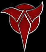 Rech confectionneur set TRON Klingon-Logo-Inverted