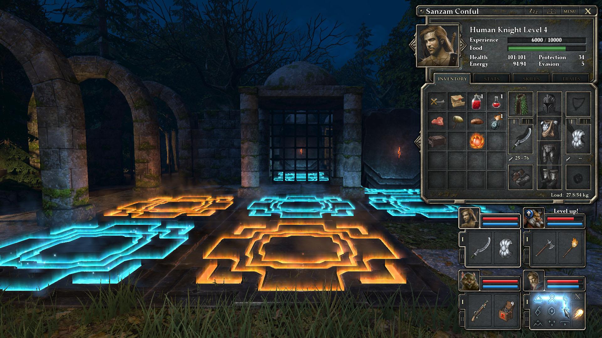 RPG old school : Dungeon Master, Eye Of Beholder, Grimrock.. - Page 3 1