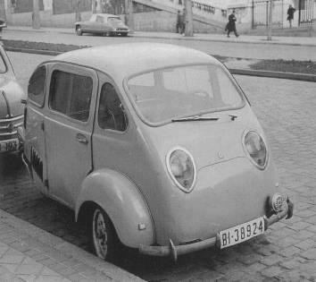 Coches de 3 ruedas Triver1958