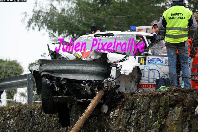 Kubica grave tras sufrir un accidente de rally 350348059