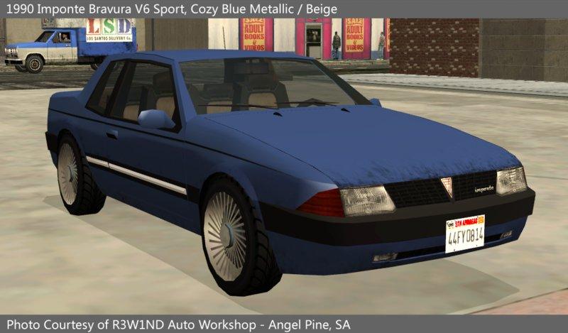 GTA SA - Carros originais em HD + Carros parecidos com os originais 1461702493_Bravura_front