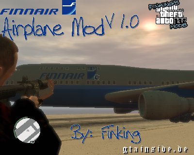 Finnair Airplane Mod v1.0 Finnairplane
