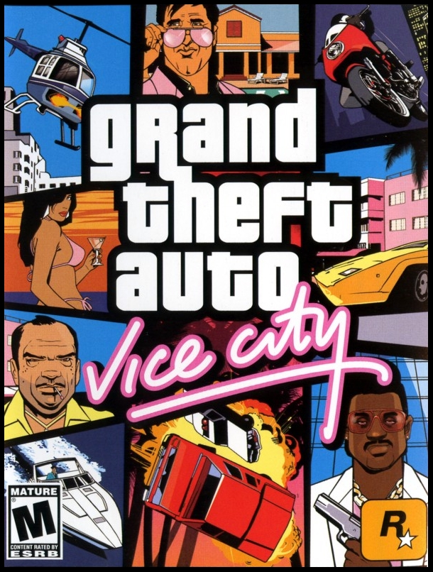 حصريا تحميل لعبة GTA 6 vice city برابط واحد مباشر + شرح للعب Jaquette