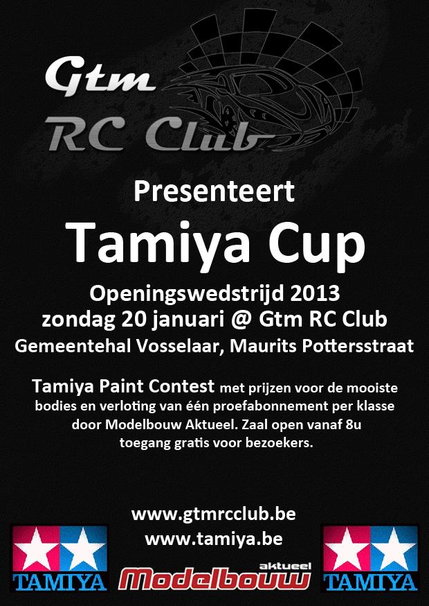 TamiyaCup 1 - GTMRC (Vosselaar) - 20 januari 2013 Tamiyacup-2013