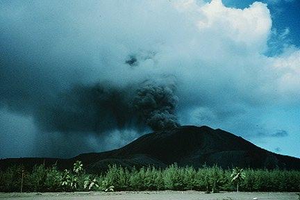 EMO observes intense volcanic activity on Pagan Pagan1994