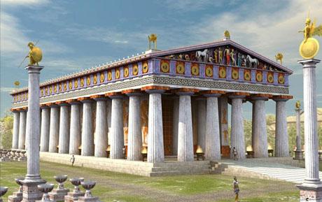 Templo de Zeus T-ZeusOlimpia