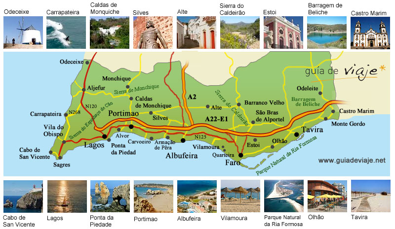Volta ao Algarve 2016 Algarve-mapa-general