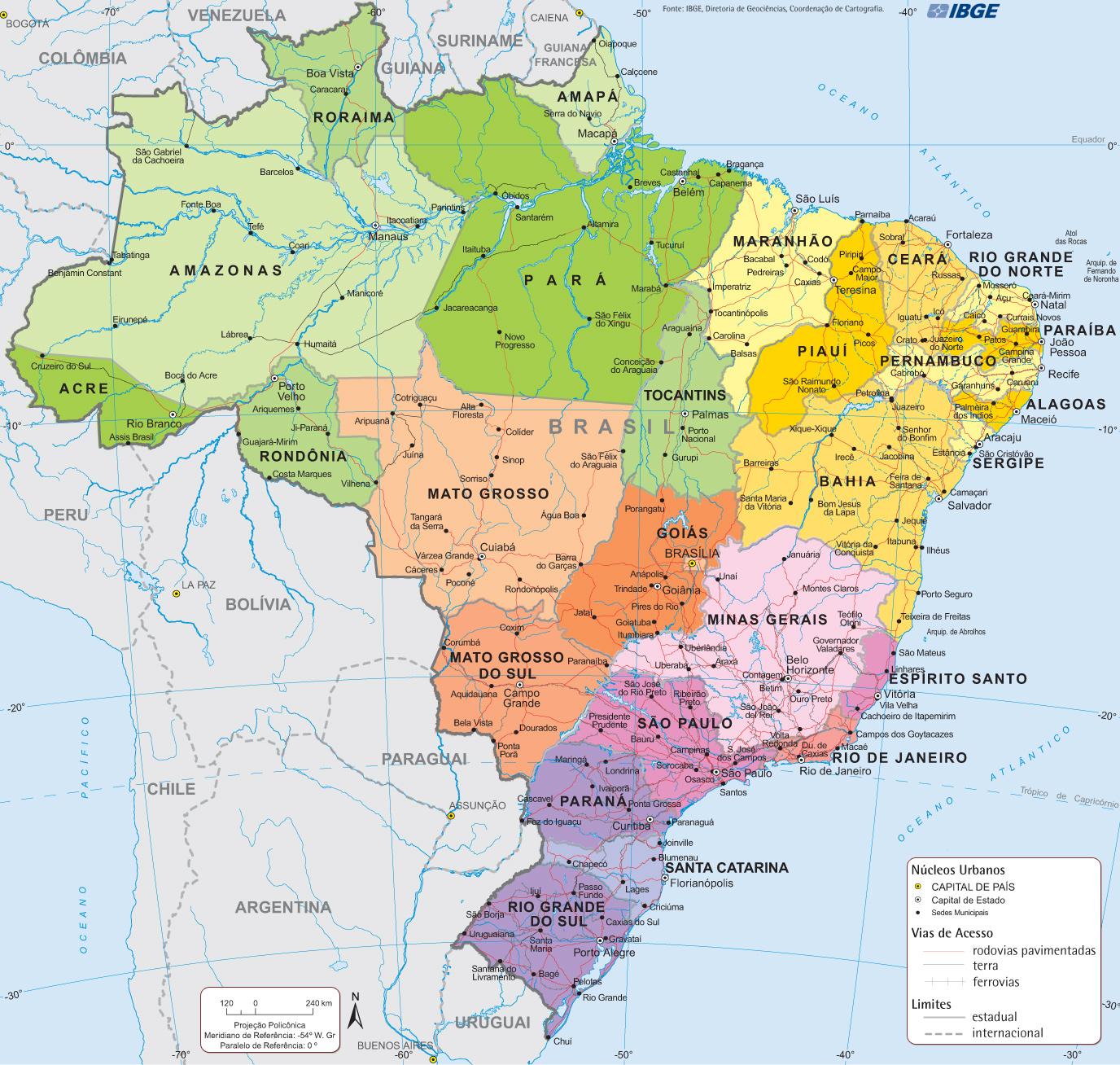 Deset najvecih drzava na svetu Brasil-politico