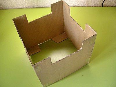 Castillo de fantasía con cajas de cartón, manualidad infantil Manualidades_castillo_carton_1