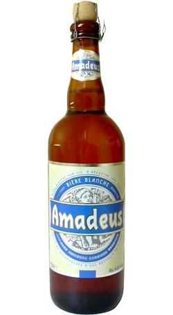 Bières et autres boissons alcoolisées Amadeus-biere-blanche-bouteille