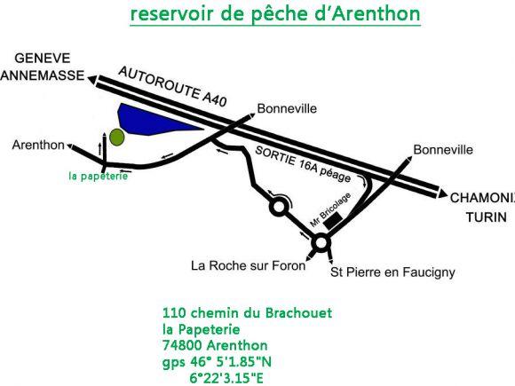 reservoir peche a la mouche d'arenthon Plan%20dacces%20reservoir