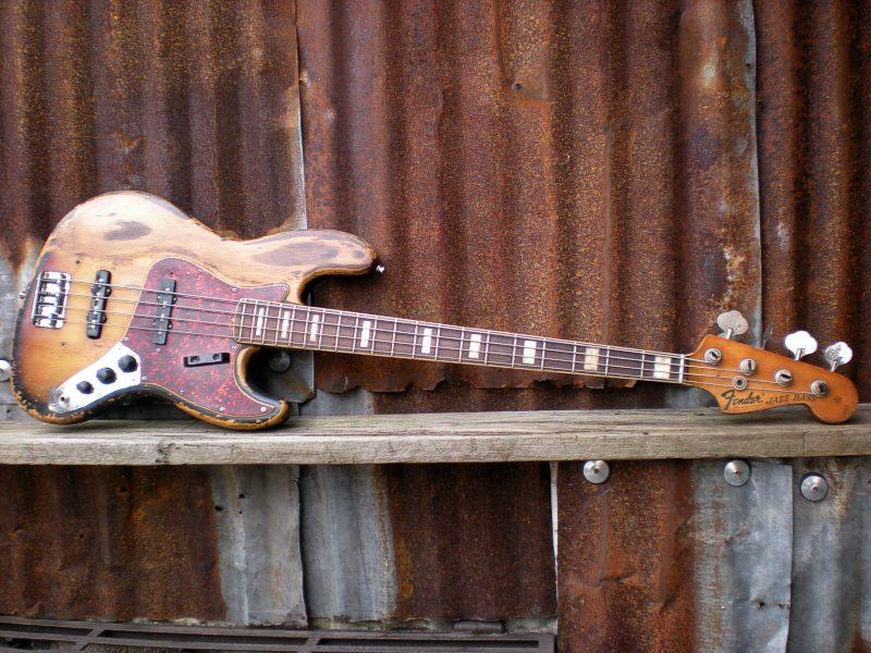 Mostre o mais belo Jazz Bass que você já viu Jb72