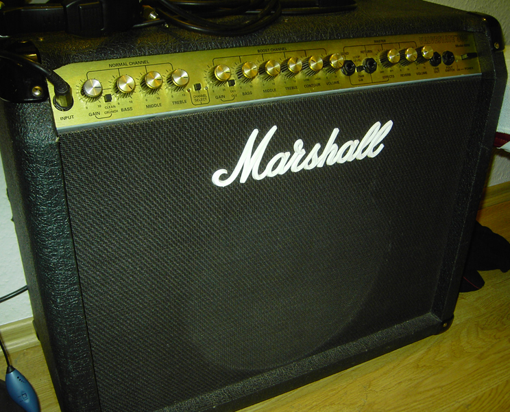Amplificador guitarra - Marshall 80 Watts + Pedais 134720-1-big