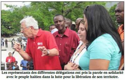 Majorite ayisyen vle Minista degèpi. 1