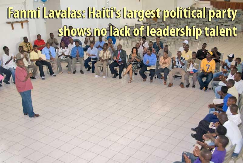 Fanmi Lavalas shows no lack of leadership talent 3_2_9
