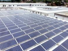 Le plus grand projet d'énergie solaire en Haïti G-5538
