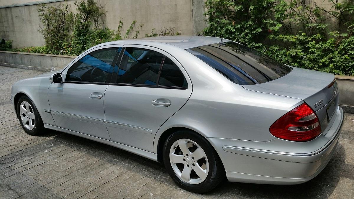 (VENDO): E350 2006 - Avantgarde - W211 - R$45 mil 02