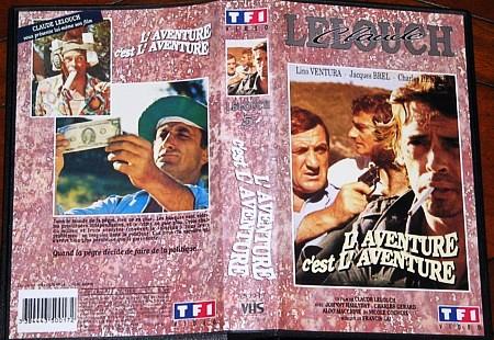 Jaquette des films Aventure3