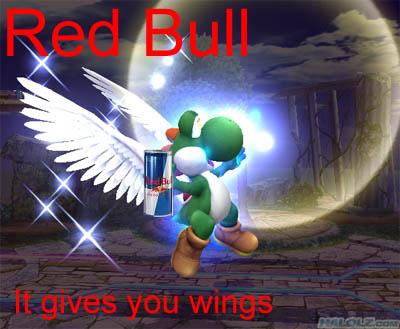 Red Bull Yoshi Redbullyoshi