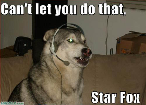 Quote of the Day - Page 34 Starfox-wolf-cantletyou