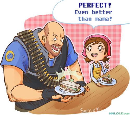 Team Fortress 2 - Page 2 Halolz-dot-com-teamfortress2-cookingmama-sandvichmama