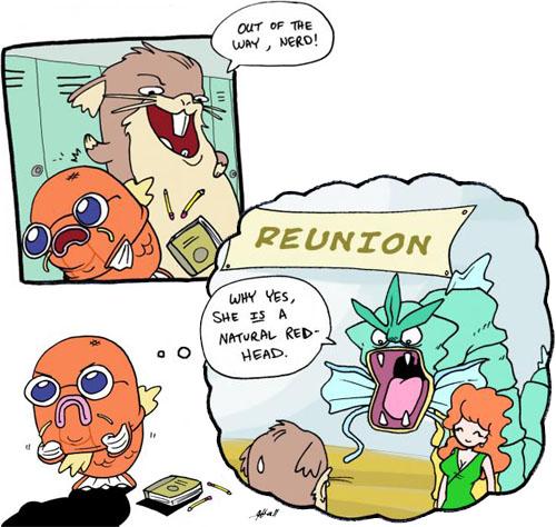 Pokemon A & Ω Hype Train! Halolz-dot-com-pokemon-magikarp-highschoolcomic