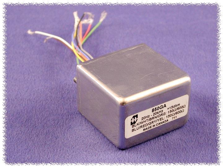 Transformateur d'impédance pour microphone ou isolement galvanique 850new_GAB