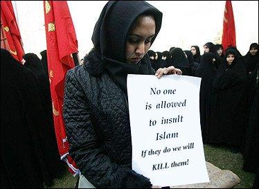 Prosvijedi zbog filma o proroku Muhamedu. No_One_is_Allowed_to_Insult_Islam