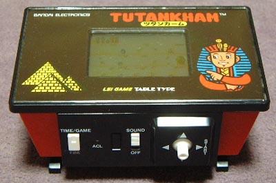Meilleurs jeux Game & Watch ? Bandai-TutankhamLCD