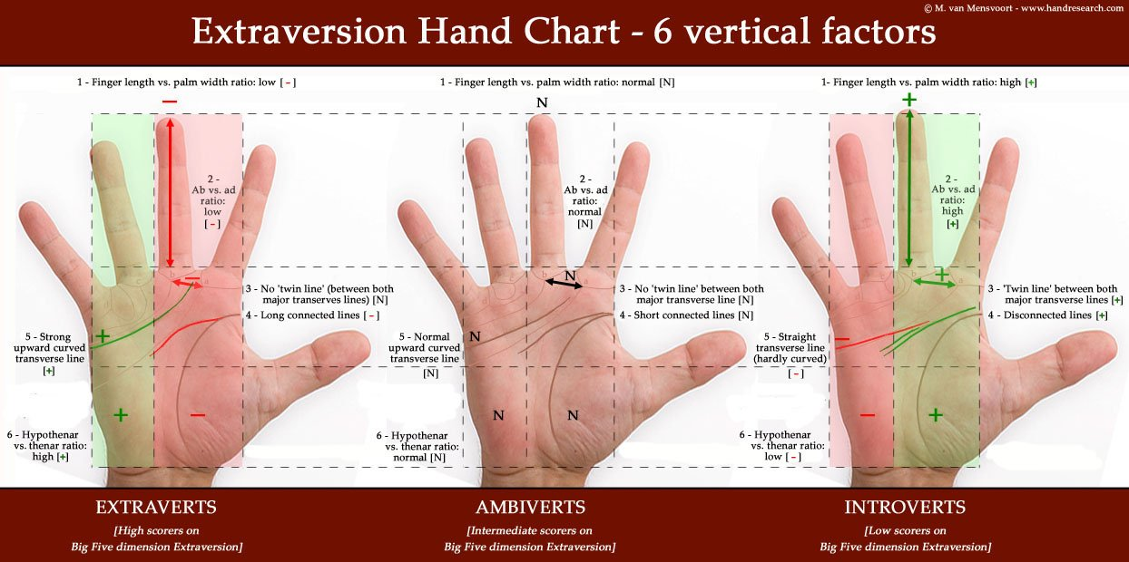 BIG FIVE: hand signs in Extraversion vs. Introversion! Extraversion-hand-chart-extraverts-ambiverts-introverts