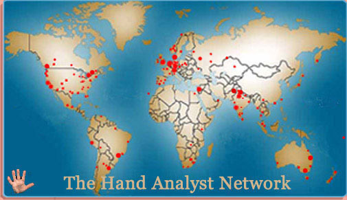 The 'Map of Palm Reading' vs. the 'Map of World Freedom' World-network