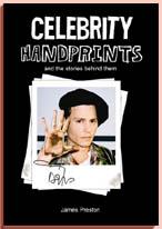 Handprint in granite Celebrity-handprints