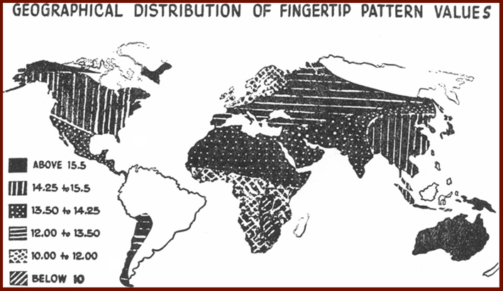 A world map of fingerprint distributions! Fingerprints-world-map