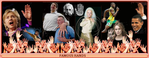 A new 'skin' for HandResearch.com! Famous-hands