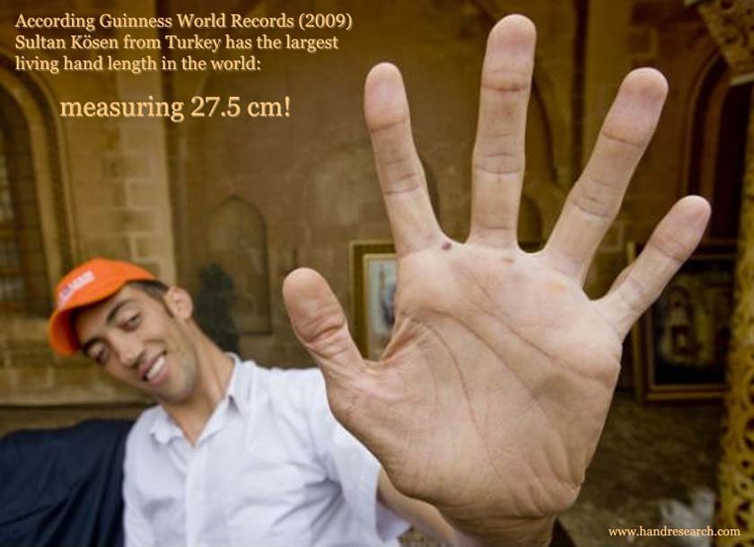 Guinness World Records: who has the largest living hand? Sultan-kosen-largest-hand-guinness-world-records