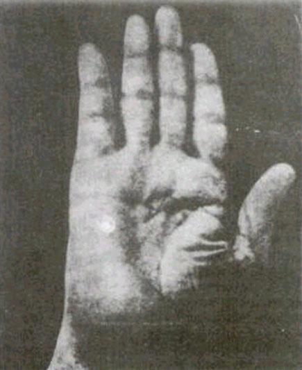 Mahatma Gandhi (1869-1948) - spiritual leader of India Mahatma-gandhi-right-hand-large