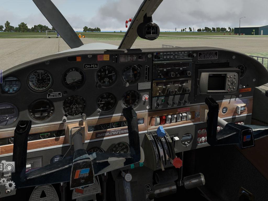 vFlyteAir Piper Arrow III PA28R-200 - Lançamento PiperArrowIII_2