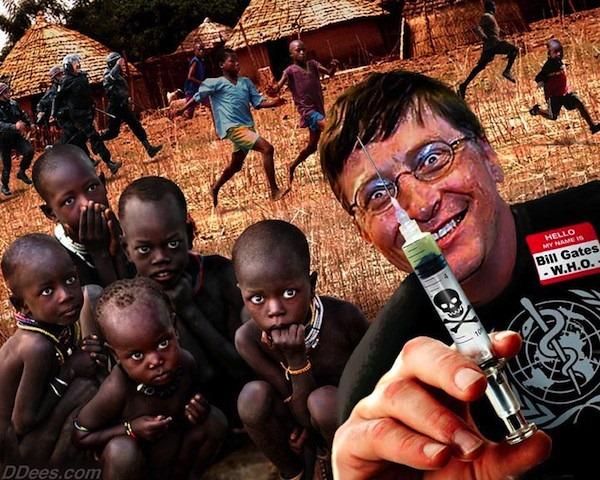 Bill Gates oral polio vaccine cripples 47,500 children Bill-gates-vaccine-kids